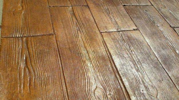 Pavimenti In Cemento Prezzi : Stampi per cemento stampato effetto legno