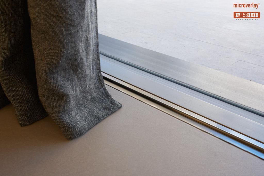 microverlay microcemento rivestimento decorativo per abitazioni private. Black Bedroom Furniture Sets. Home Design Ideas